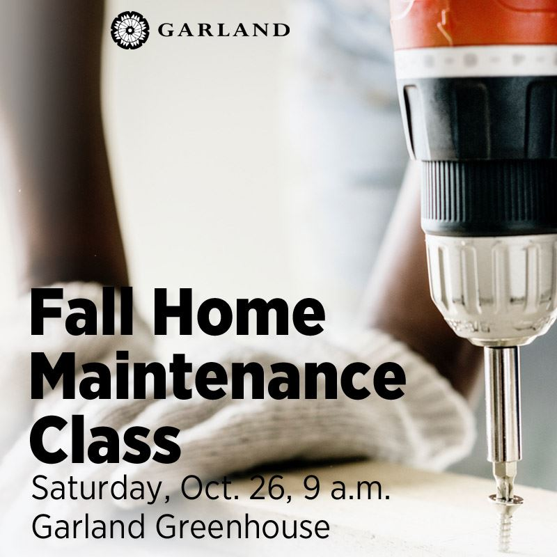2019 Fall Home Maintenance Class