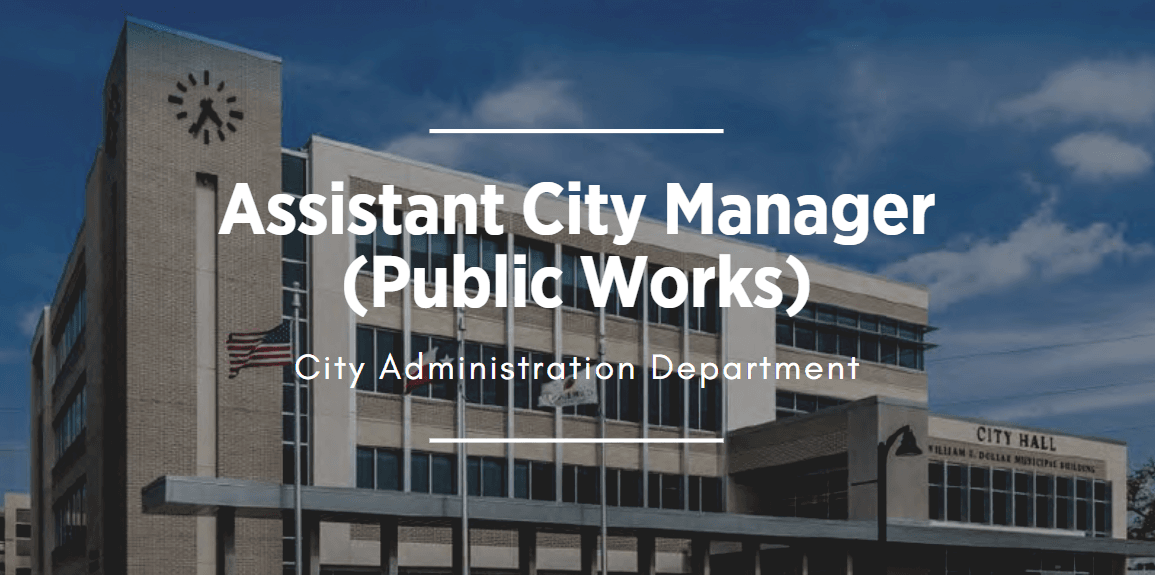 building image that links to Assistant City Manager position